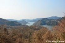 Storage Reservoir Near Yubara Onsen