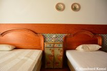 Abandoned Hotel Beds