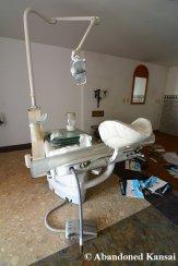 Deserted Dental Treatment Chair