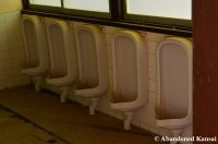 Urinals At An Abandoned School In Japan