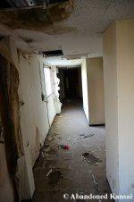 Vandalized Hotel Hallway