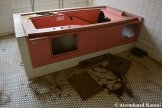 Vandalized Hospital Bath Tub
