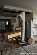 Vandalized Medical Equipment