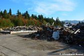 Piles Of Debris In The Mountains