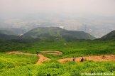 Serpentines Down Mount Ibuki