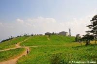 The Upper Plateau Of Mount Ibuki
