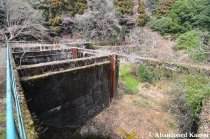 The Main Area Of The Abandoned Dam