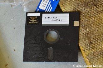 Abandoned 5.25 Inch Floppy