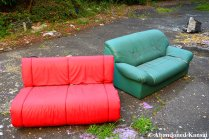 Abandoned Couches