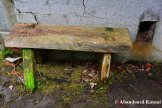 Tiny Wooden Outdoor Bench