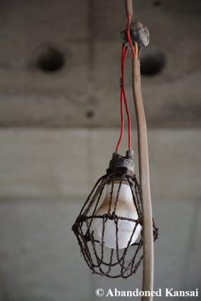 Abandoned Construction Site Lamp