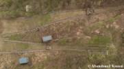 Abandoned Ski Jump Drone