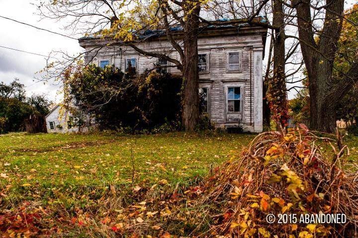 Abandoned residence near Dryden, New York