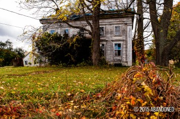 Abandoned Dryden House