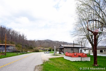 Along KY 486 in Webbville, Kentucky