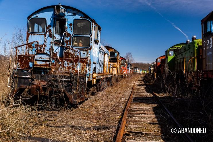 Conrail 8883 EMD SW7