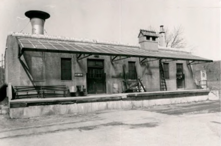 Paint Shop (Building 18) at Wassaic State School