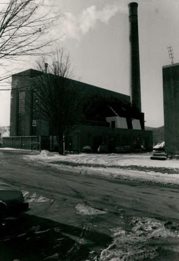 Power Plant (Building 26) at Wassaic State School