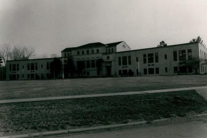 Berkshire Hall (Building 59) at Wassaic State School