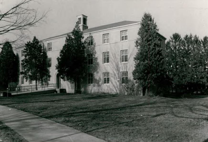 Y Building (Building 62) at Wassaic State School