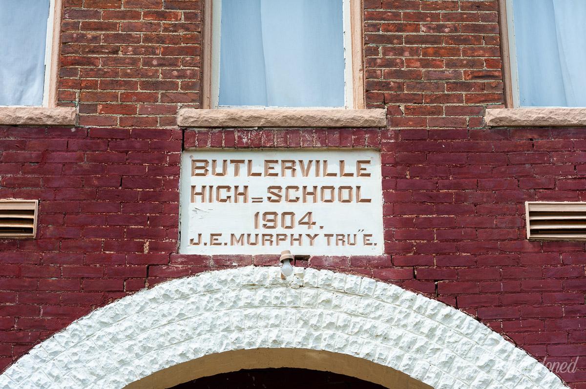 c. 1904 Butlerville High School Building