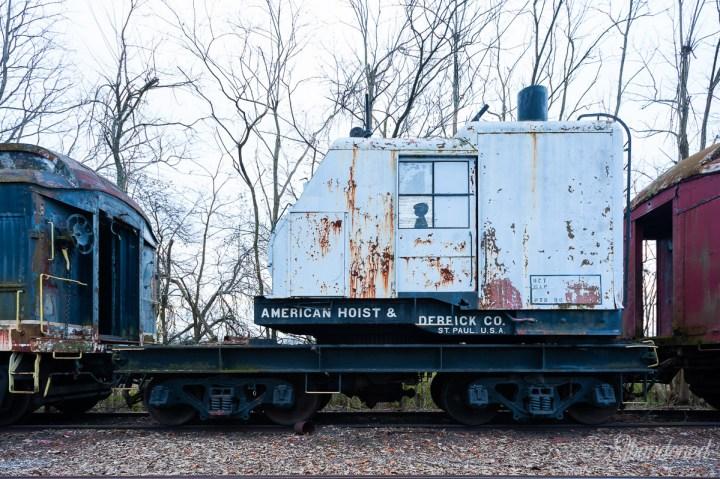 Kentucky Utilities Steam Crane