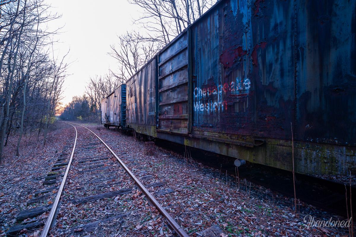 Chesapeake & Western Railway Boxcar