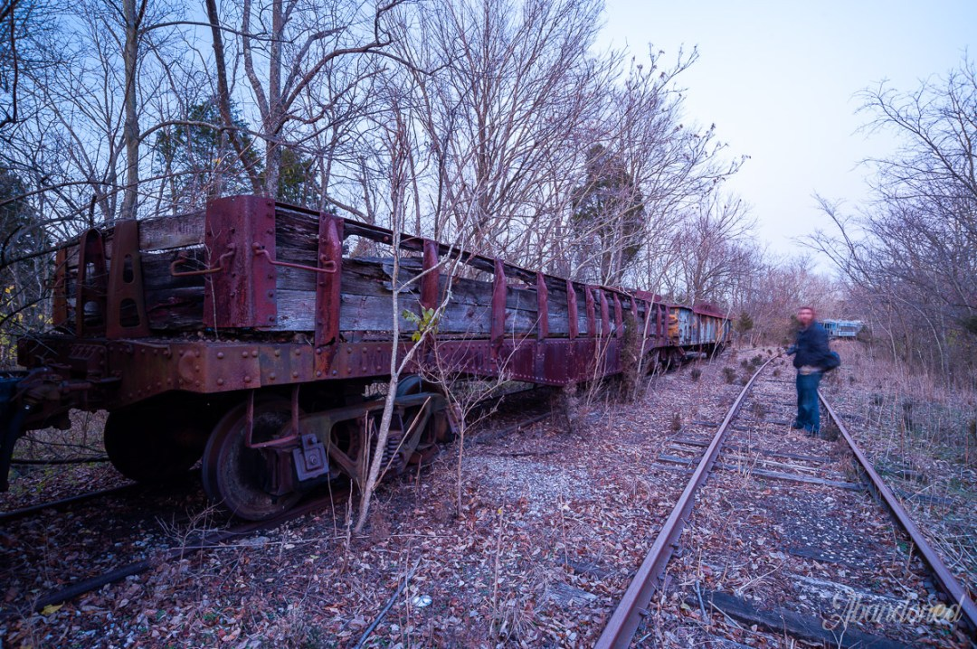 Monon Railroad Flat Car