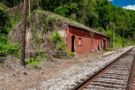 Glen Ferris Kanawha & Michigan Train Station