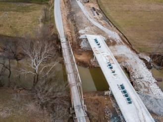 Little Sandy River Bridge at Vincent Cemetery