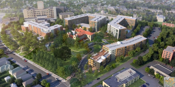 Initial redevelopment proposal of St. Gabriel's