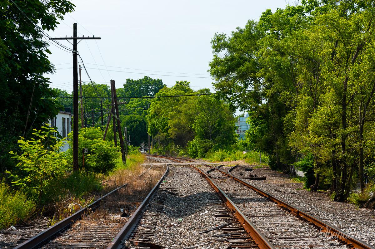 Little Miami Railroad at Carrel Street, Cincinnati