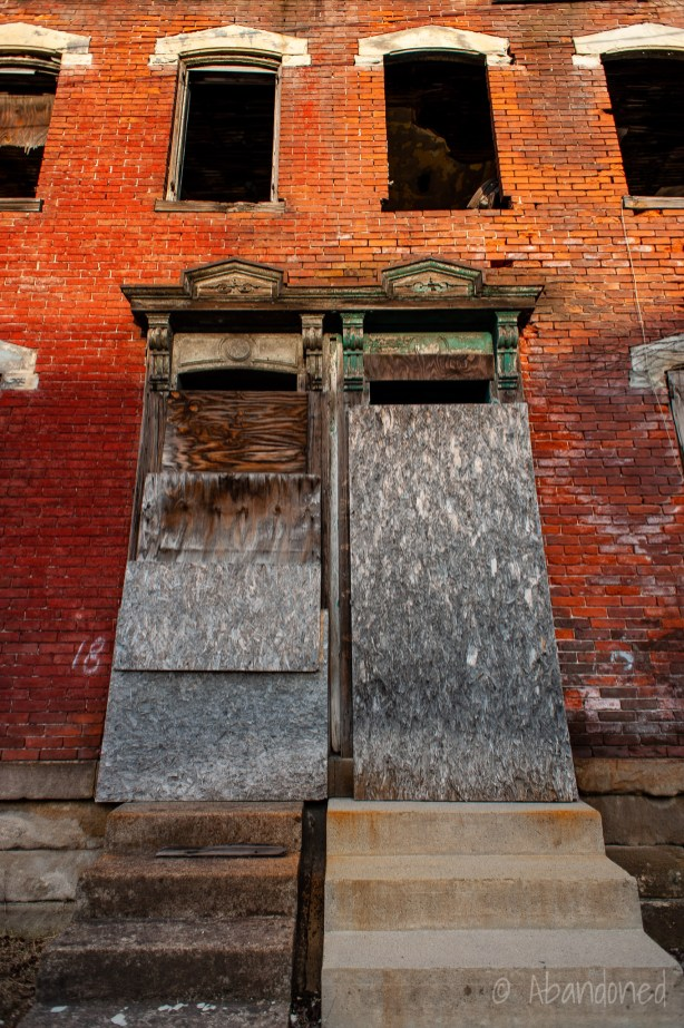 Abandoned Mexican War Streets, Pittsburgh, Pennsylvania Residence