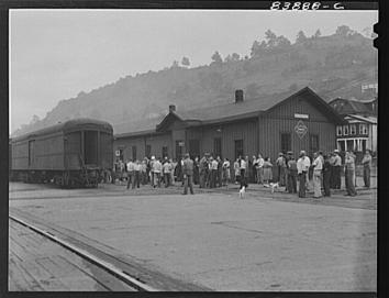 B&O Train Station in Richwood