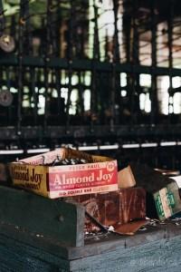 Vintage Almond Joy Box