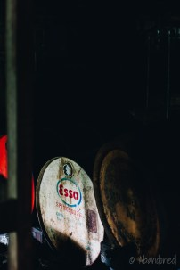 Rusted Esso Drums