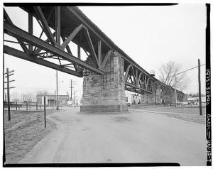 Baltimore & Ohio Railroad Bridge over Ohio River