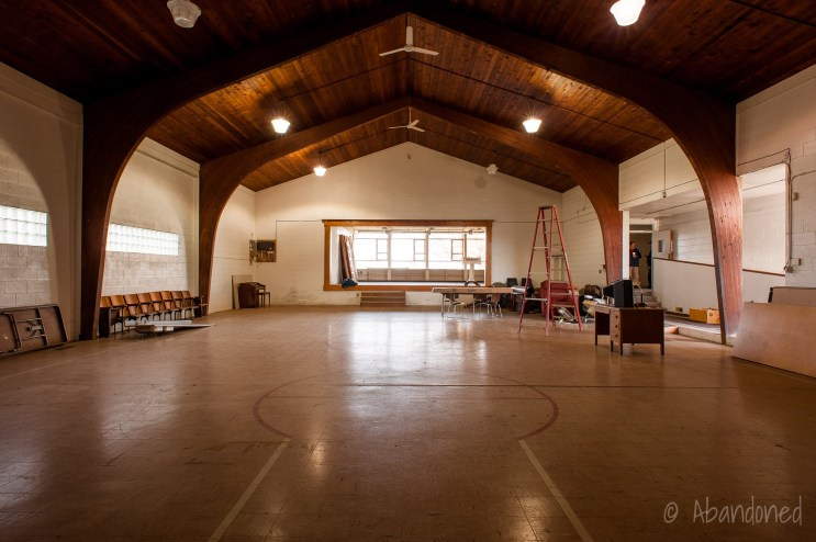 Caesar Creek Township School Gymnasium / Auditorium