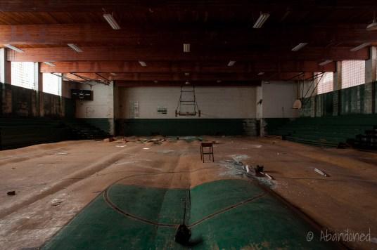 St. Anthony High School Circa 1950s Gymnasium