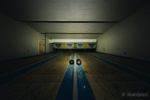 Bowling Alley in the Syracuse State School