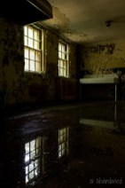 Central Islip State Hospital Restroom