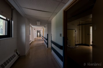 Ward Hallway and Room