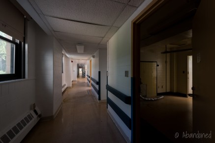 Ward Hallway and Room