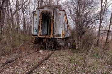 Abandoned Dining Car