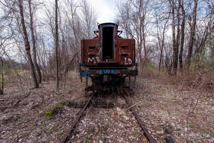 Abandoned Railroad Car