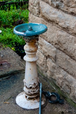 Water Fountain at Warren County Orphan Asylum and Children's Home
