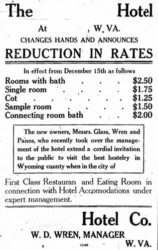 Hotel Advertisement