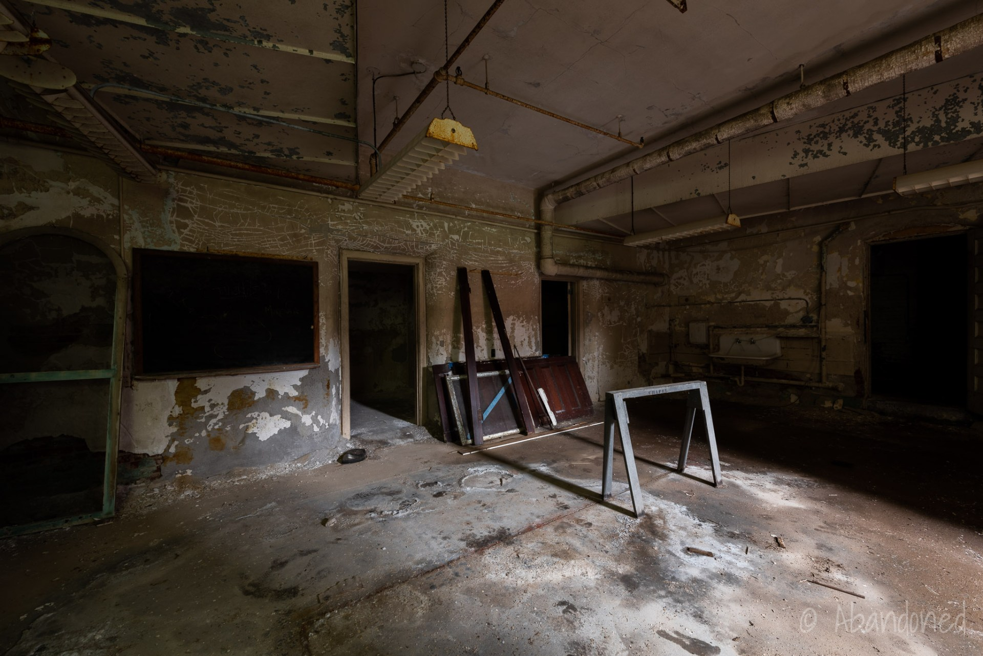 Medfield State Hospital Morgue