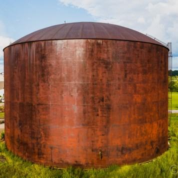 Buckeye Ordnance Works Rusty Tank