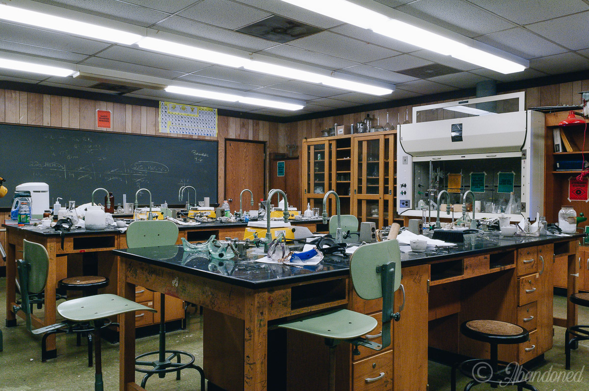 Ironton High School Classroom